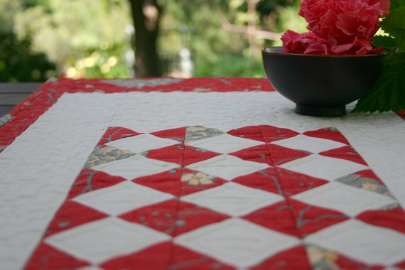 Rouenneries Deux Quilted Table Runner
