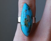 Abstract Turquoise  Ring: Size 5