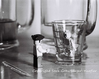 """Lego Pirate Still Life - A Pirate's Life For Me... - Fine Art Photograph - 8 x 10"""""""