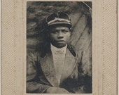 African American Jockey Horse Racing cabinet card Kentucky Derby