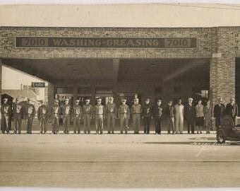 Austin Goodyear Co Tire Store 1930s Austin Texas