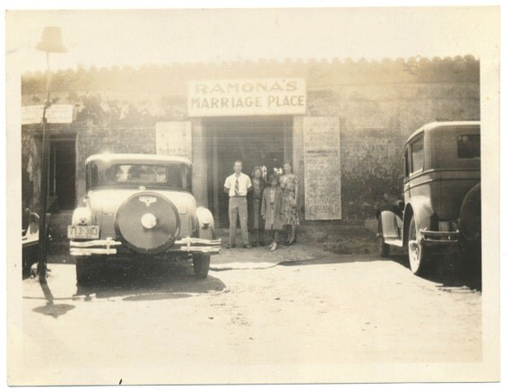 Mexicali Mexico 1930s Alcohol Prohibition Underage Marriage