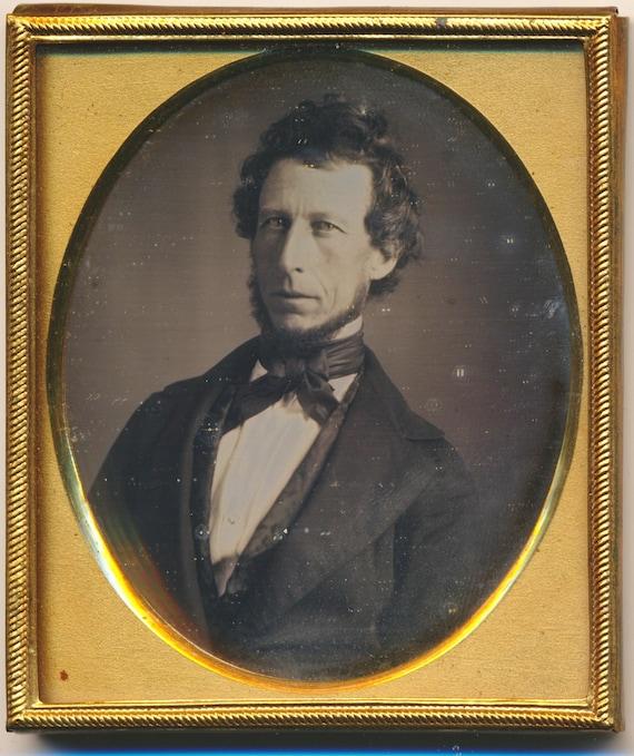 Albert G Fobes ID'd Portland Maine Daguerreotype photograph State Senate