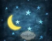 4ft x 4ft Vinyl Photography Backdrop / Goodnight Moon