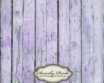 NEW ITEM 4ft x 4ft Vinyl Photography backdrop / Worn Purple Distressed Wood