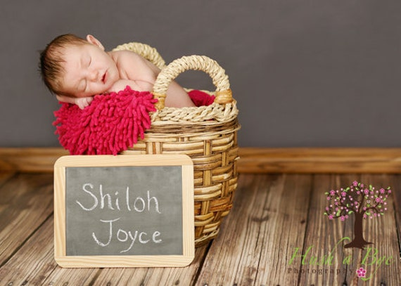 4ft x 4ft Vinyl Photography Backdrop / Brown Wood Floor / PERFECT for Children or Newborn Pictures