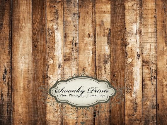 6ft x 5ft Vinyl Photography Backdrop Old Multi  Wood