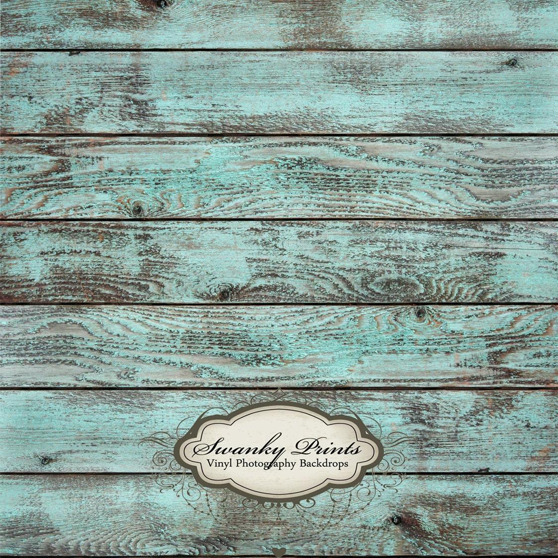 Sale 4ft X 4ft Vinyl Backdrop Wood Floordrop Blue Washed Wood