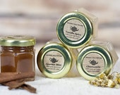 7 ORGANIC SAMPLE size jars, Great Stocking Stuffer.