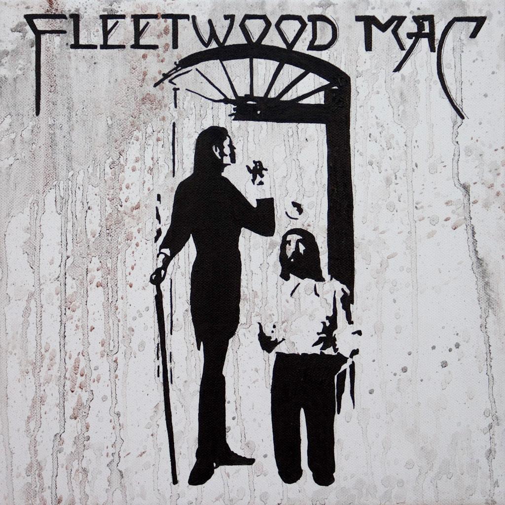 fleetwood mac album cover oil painting. Black Bedroom Furniture Sets. Home Design Ideas