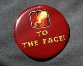 World of Warcraft Button - Pyroblast