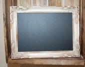 Cream chalkboard frame