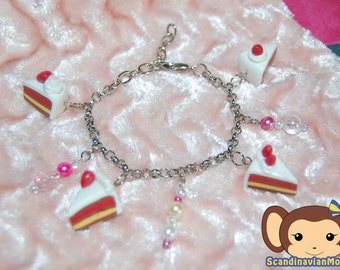 Bracelet - Strawberry Short Cake