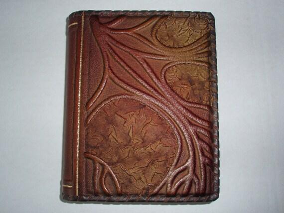 Blank Notebook Diary Journal - Handmade Leather Craft