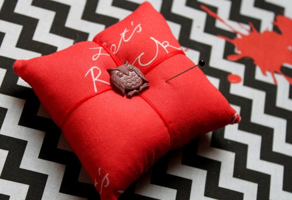 Twin Peaks pincushion