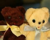 Cuddle Toys Teddy Bears by Douglas Chocolate and Vanilla