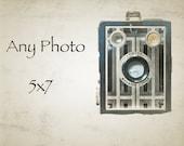 Custom Photo Print 5 x 7