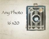 Custom Photo Print 16 x 20