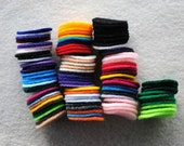 100 1 Inch Die Cut Felt Circles, Variety of Colors SUPER DEAL