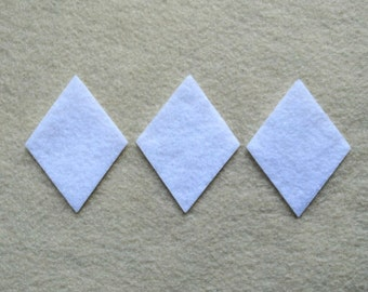 25 Piece Die Cut Felt Diamonds