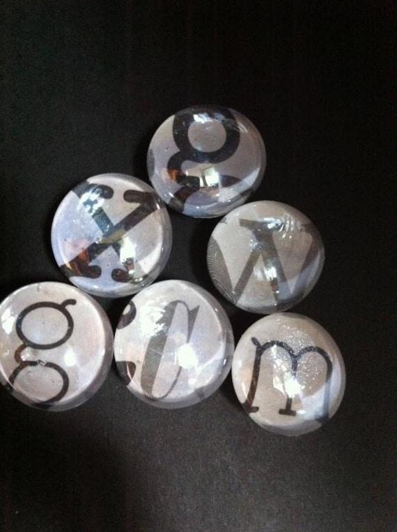 Can I get a vowel - Letter Magnets