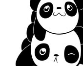 Pile of Pandas Card