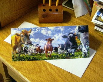 Blank Cow Note Cards (Who Are You)