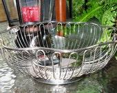 Vntage Bowl/Basket Silver Plated by International Silver Company