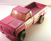 Tonka Red Pick Up Truck 14 1/2 inch long 1970s