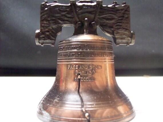 Vintage Bell - Liberty Bell Replica Pre - Bicentennial