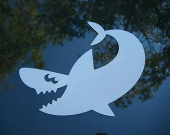 Shark or Coral Decal