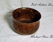 Walnut Claro Burl bowl