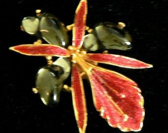 vintage jewels ...  AURORA 738 marked BROOCH PIN ...