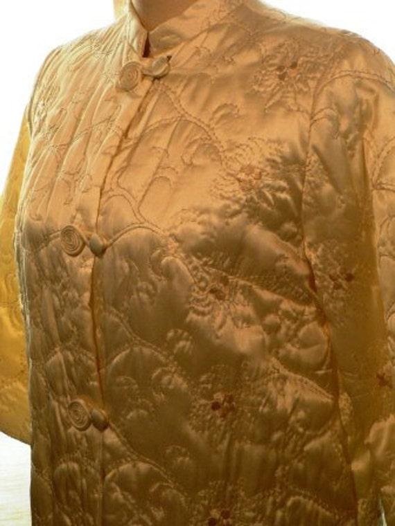 vintage lingerie ... so COZY SEXY new old stock KIMONO style robe ...