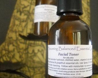 Facial Toner for oily skin