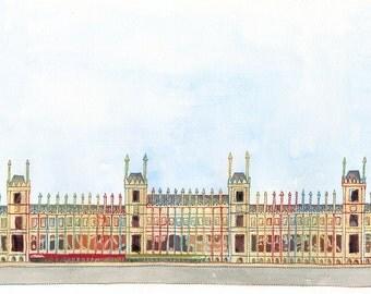 Houses of Parliament - London ORIGINAL ARTWORK