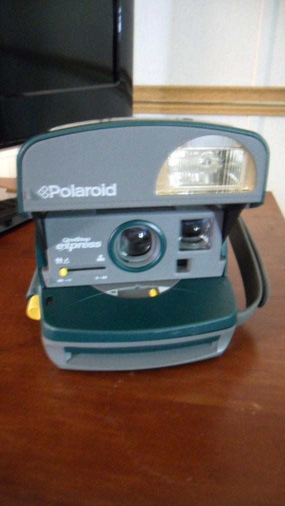 Polaroid Instamatic Camera  Polaroid OneStep Express  vintage camera
