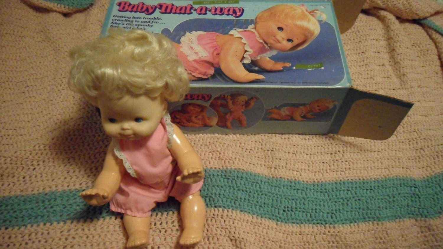 Vintage Doll Baby That A Way 1970s Works By