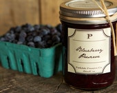 Jam - Homemade Blueberry Preserve