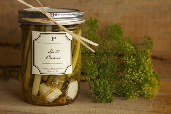 Pickles - Homemade Dill Beans