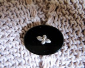 Victorian Mourning Brooch/Pendant