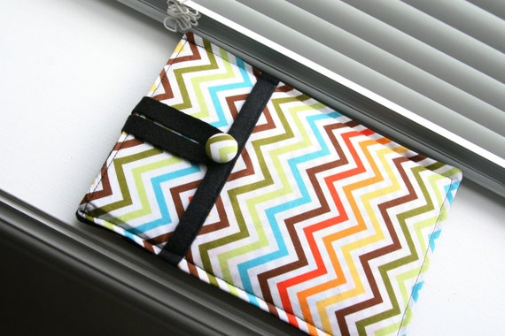 Kindle Sleeve / Kindle Case / Kindle Cover / Kindle Fire / Kindle Touch / Kindle Paperwhite- Chevron