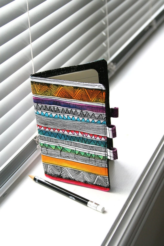 Notebook Cover / Moleskine Cover / Journal Cover - Tribal