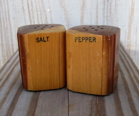 how to make salt and pepper shakers out of wood