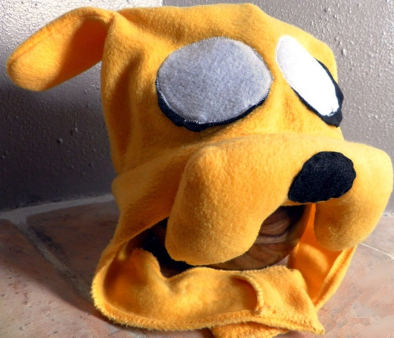 Costume Hat - Jake the Dog Adventure Time Fleece cosplay hat