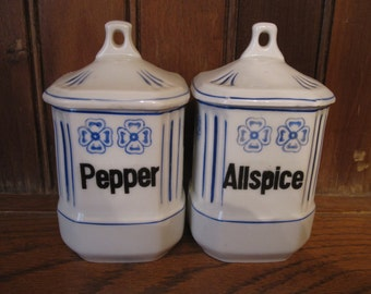 Spice Canisters Etsy