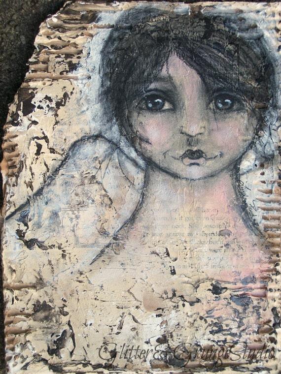 Original Painting Angel