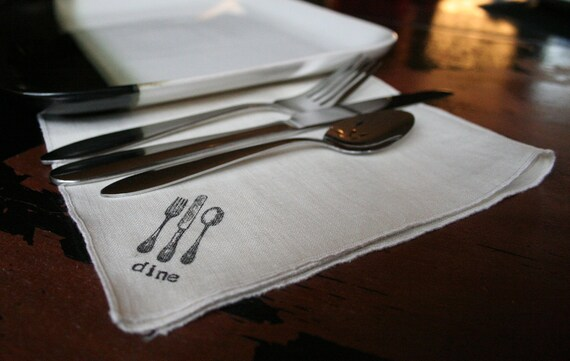 Linen Cloth Dinner Napkin - Dine