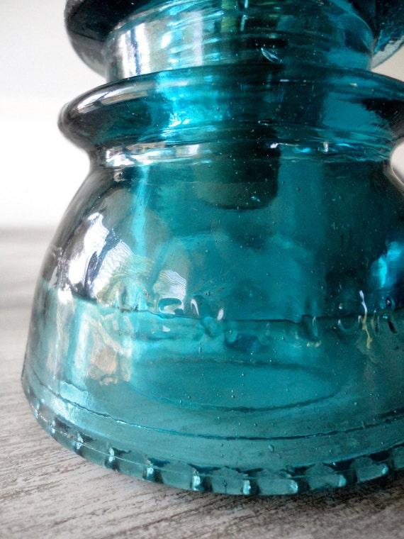 Items similar to antique telegraph insulator pendant light for Antique insulator pendant lights
