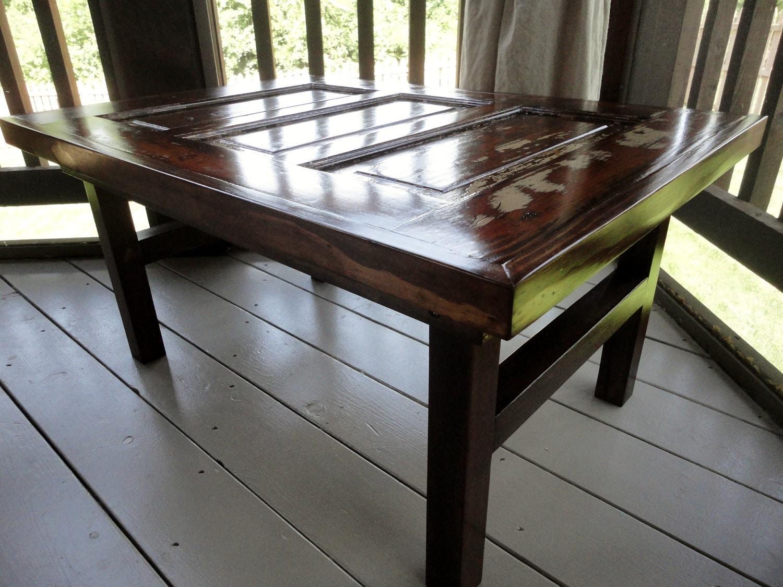 Antique Door Coffee Table By Reddoorfurnitureco On Etsy